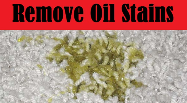 Image result for Oil Stains From A Carpet?