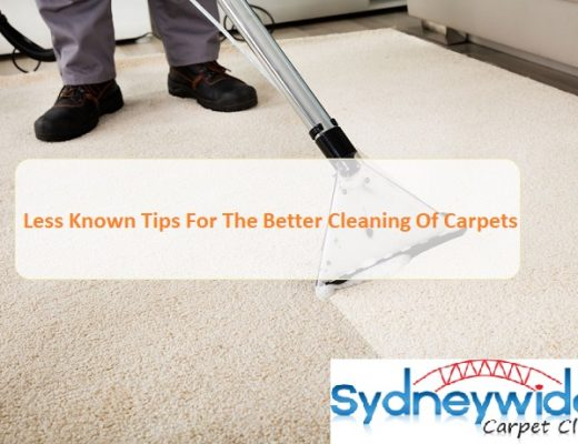 Less Known Tips For The Better Cleaning Of Carpets