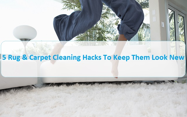 5 Rug & Carpet Cleaning Hacks To Keep Them Look New